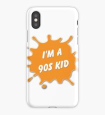 Are you a 90's Kid? - Nick Tribute iPhone Case