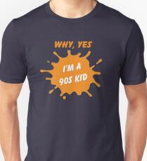 Are you a 90's Kid? - Nick Tribute Unisex T-Shirt