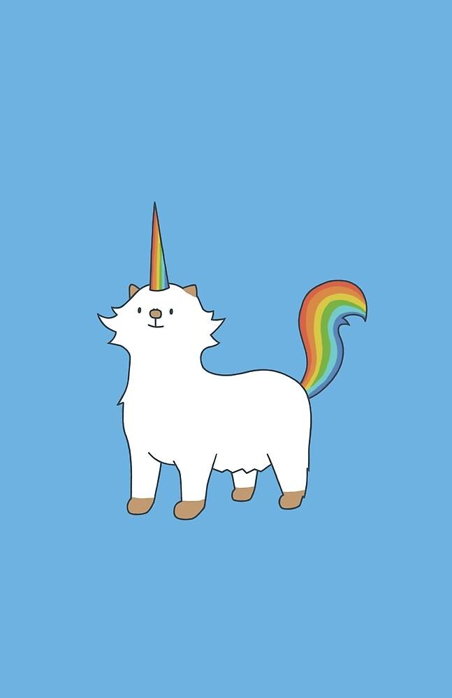 Rainbow Unicorn Moo by Daniel Saunders