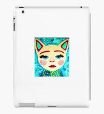 anthropomorphic cat iPad Case/Skin