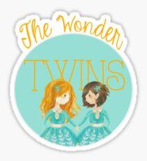 The Wonder Twins Sticker