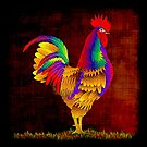 Autumn Rooster by myrbpix