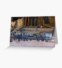 Blacksmith Tools Greeting Card