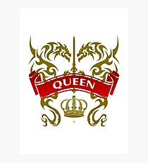 The Queen Coat-of-Arms Photographic Print