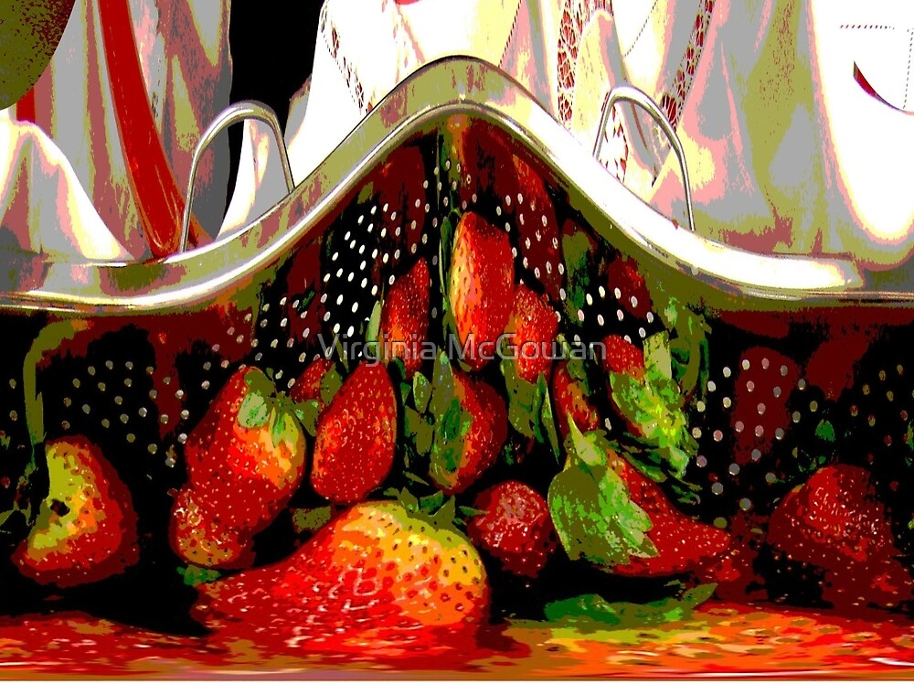 Strawberry Delight  by Virginia McGowan