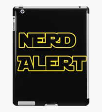 Nerd Alert Star Wars Font iPad Case/Skin