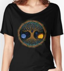 Astral Tree of Life Women's Relaxed Fit T-Shirt