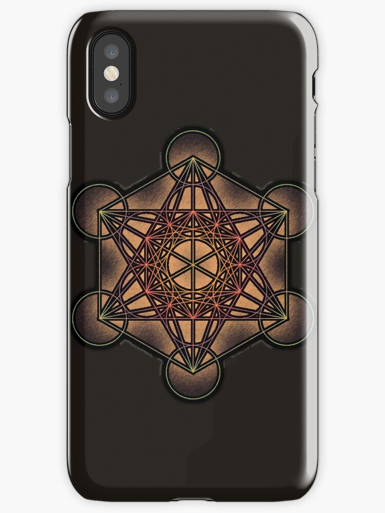 Metatron's Cube ~ Sacred Geometry by Leah McNeir