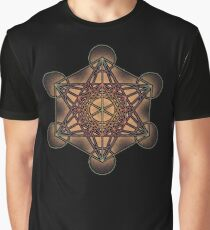 Metatron's Cube ~ Sacred Geometry Graphic T-Shirt