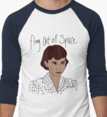 Flung Out of Space Men's Baseball ¾ T-Shirt