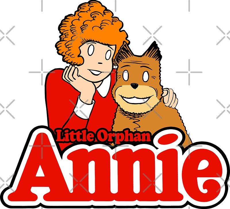 little orphan annie stickers by dcdesign redbubble