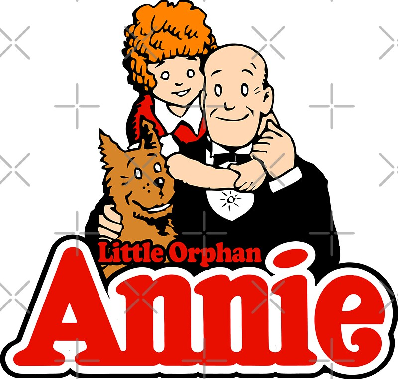 """""""Little Orphan Annie"""" Stickers By DCdesign"""