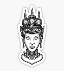 Apsara Sticker
