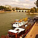 Seine Scene by George Grimekis