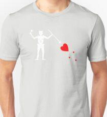 Edward Teach Pirate Flag Unisex T-Shirt