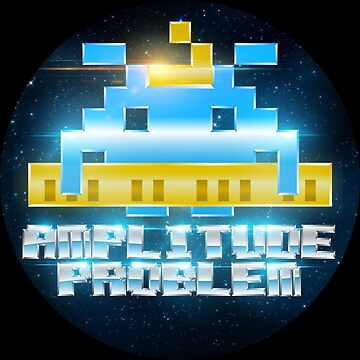 Amplitude Problem Logo Apparel and Stickers by ampproblem