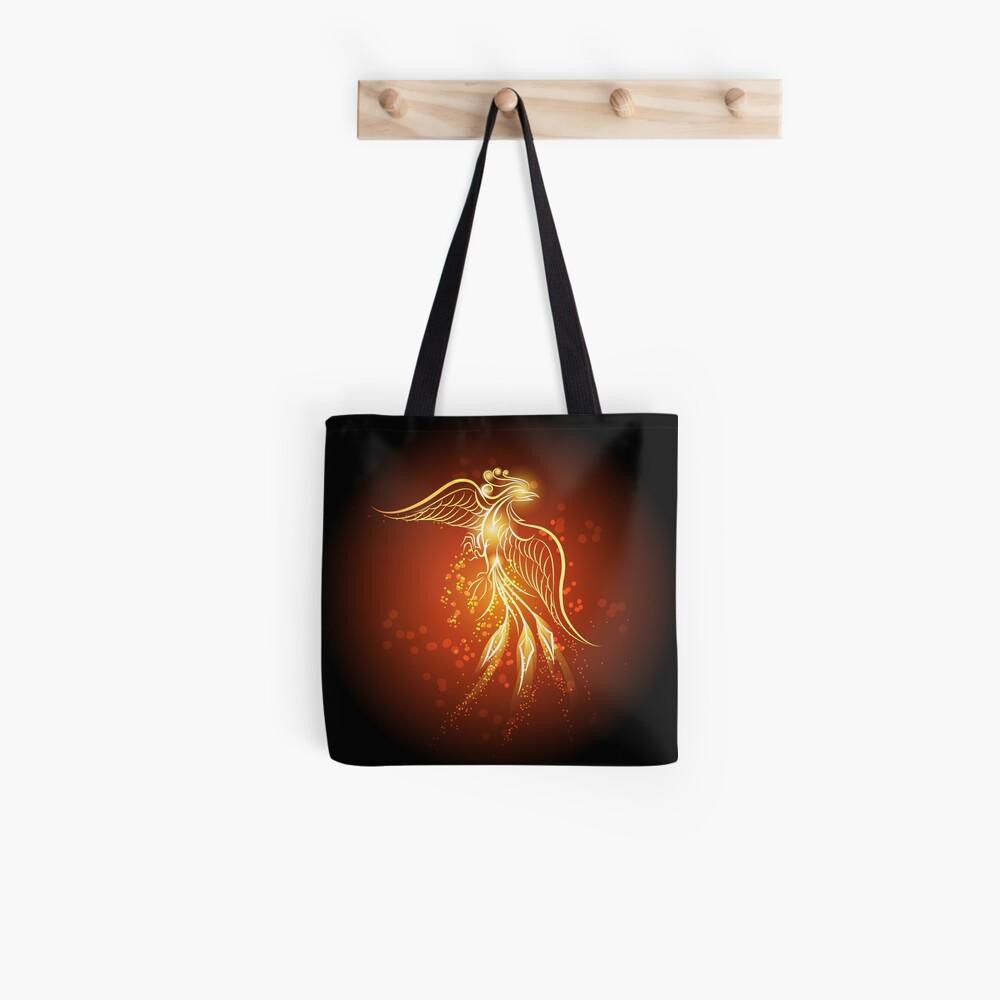 Phönix aus der Asche Stofftasche