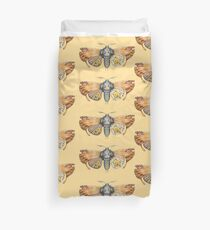 orange moth  (original sold) Duvet Cover