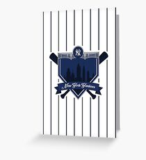 New York Yankees - Badge / Alternate Logo Greeting Card