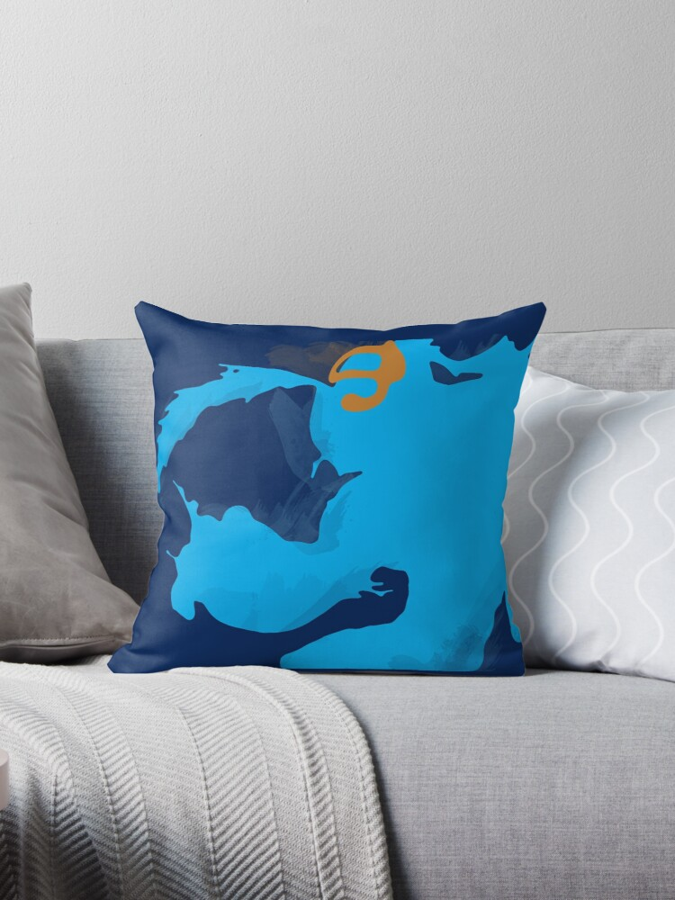 Pool Party Zac Throw Pillows By Shnickmann Redbubble