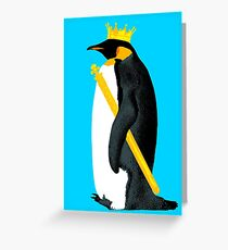 Emperor Penguin Greeting Card