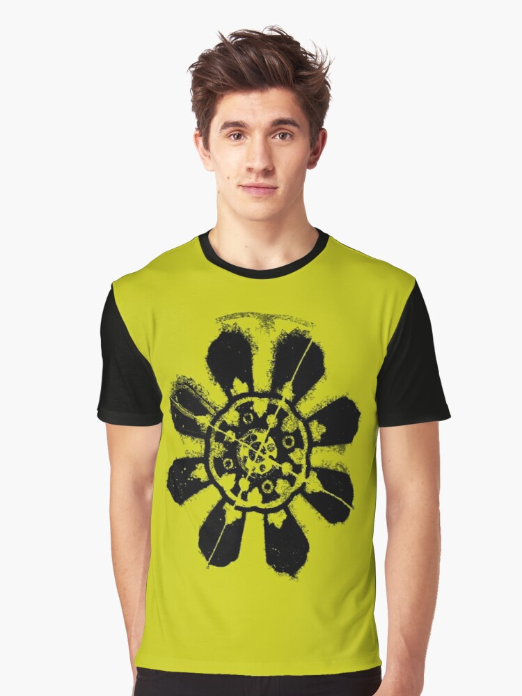 Floral Design Graphic T Shirt By Hurlz Redbubble