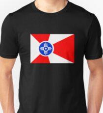 Flag of Wichita, Kansas. T-Shirt