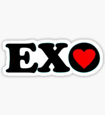 ♥♫I Love EXO Fabulous K-Pop Clothes & Stickers♪♥ Sticker