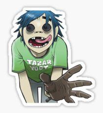 0 gorillaz Sticker