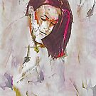 Collections Contemporary Abstract Portrait by Galen Valle