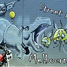 Melbourne Street Art  #130 by bekyimage