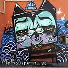 Melbourne Street Art  #131 by bekyimage