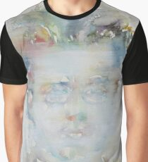 GUSTAV MAHLER - watercolor portrait Graphic T-Shirt