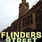 Flinders Street Station Melbourne by Phillip Overton