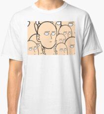 A lot... Of saitama's face Classic T-Shirt