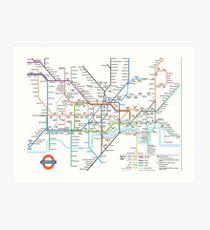 London Underground Art Print