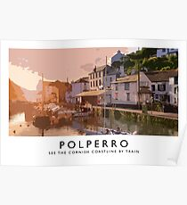 Polperro (Railway Poster) Poster