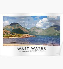 Wast Water (Railway Poster) Poster