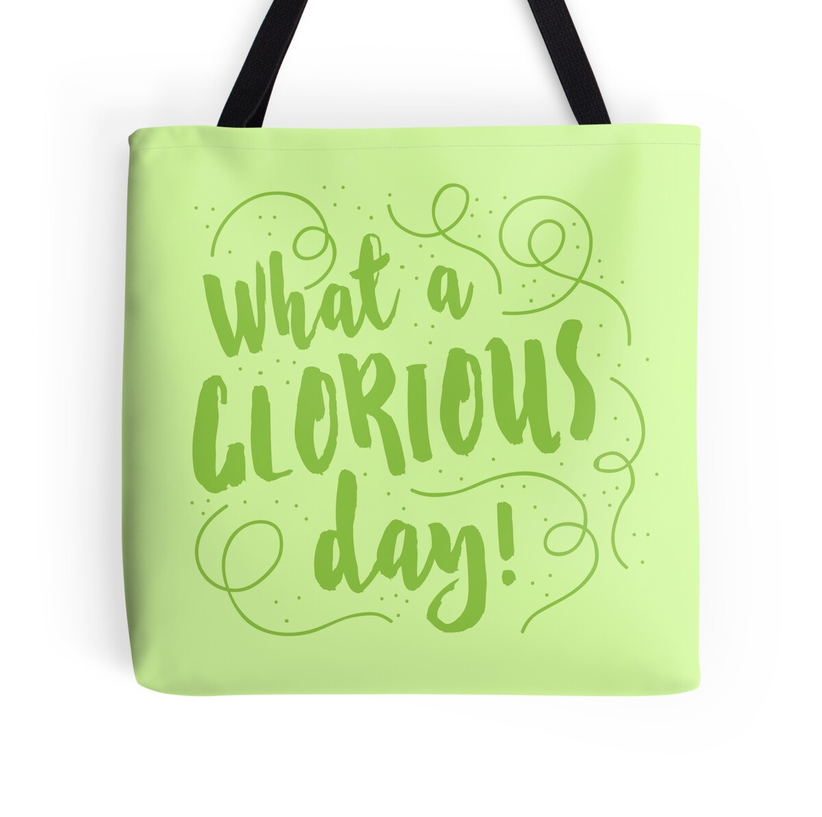 Wall Stickers Perth Quot What A Glorious Day Quot Tote Bags By Jazzydevil Redbubble