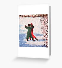 Finnish greeting cards redbubble snow tango greeting card m4hsunfo