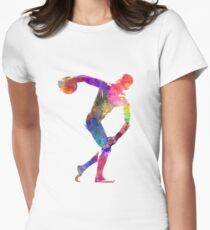 Discobolus Women's Fitted T-Shirt