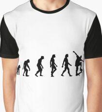 The Evolution of Skateboarding Graphic T-Shirt