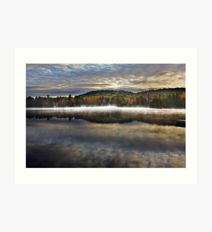 Wilson Lake, Quebec Art Print