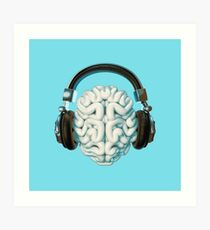 Mind Music Connection Art Print