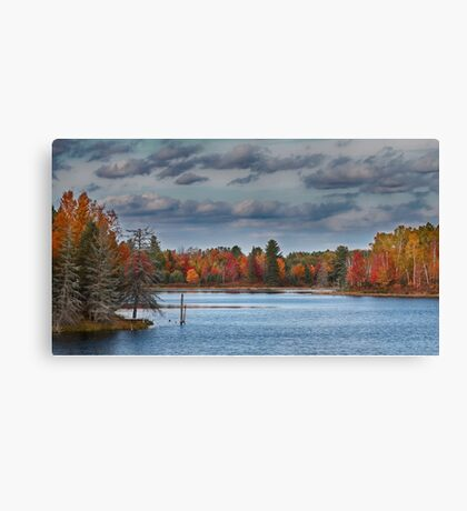 Cottage Bound, Kazabazua, Quebec Canvas Print
