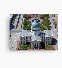 St Louis Capital Building Canvas Print