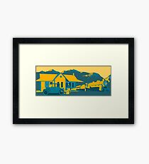 Train Station Framed Print