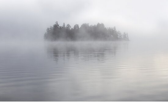 Lake of Two Rivers - Algonquin Park, Canada by Jim Cumming