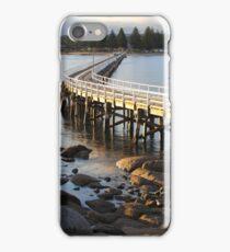 Granite Island Bridge Pt.6 iPhone Case/Skin