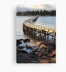 Granite Island Bridge Pt.6 Canvas Print